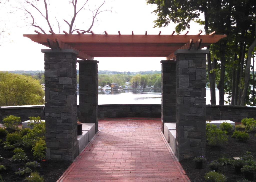 Waterfront Pergola