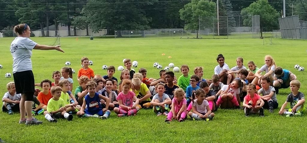 Soccer Clinic Group Pic