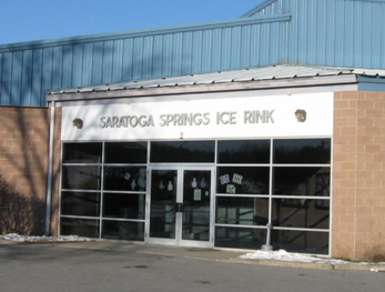 Saratoga Springs Ice Rink Entrance
