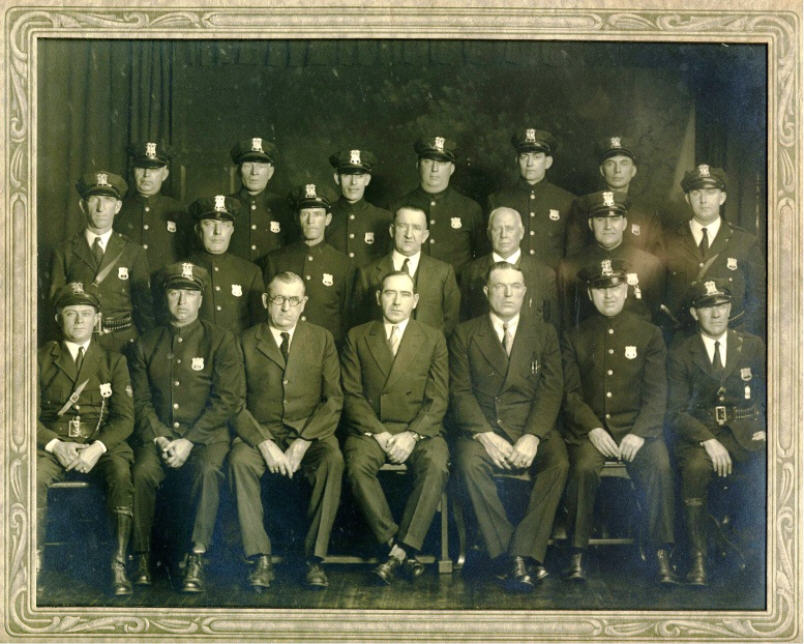 1931 Police Department Staff