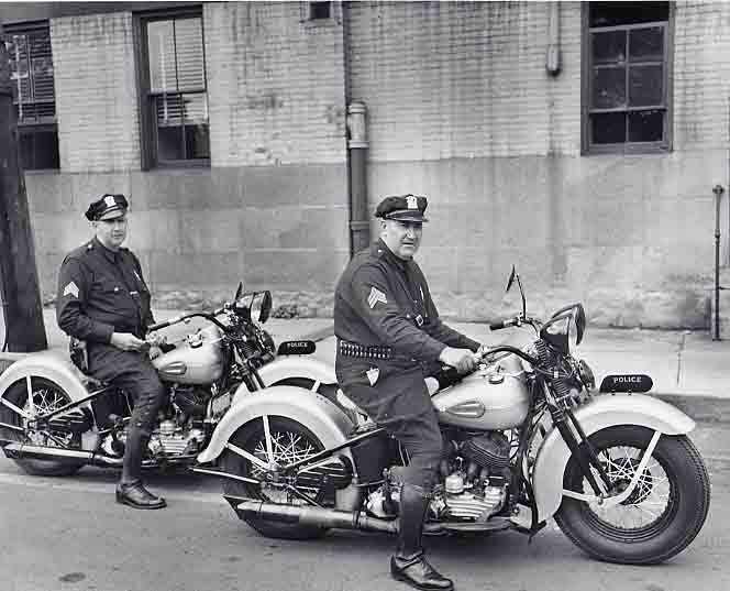 Officers on Motorbikes