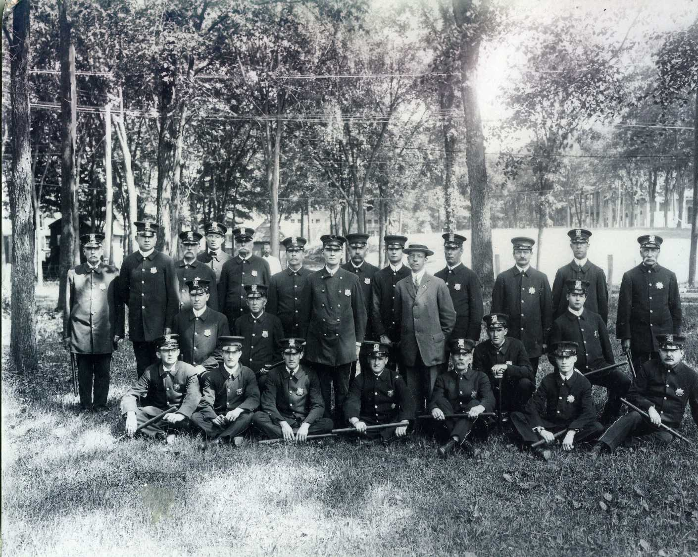 Saratoga Springs Police Department early 1900s