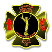 Saratoga Springs Fire Department Patch